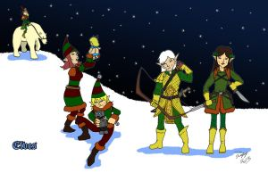10 - Elves by Shapshizzle