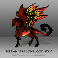 Fjerran Dragonblood #001 by Morgan-Draws