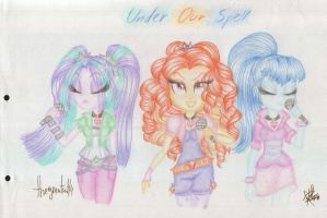 Under our spell~ (NEW DRAWING FINALLY) by thegreatcat14