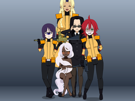 The MON Squad by NCG1120