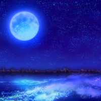Night view-Blue- by bluegerbera-yuki
