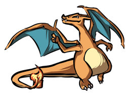 charizard by ZeeKayArt