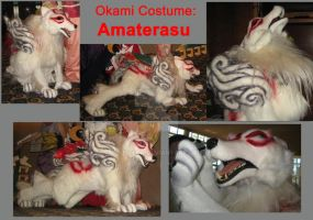 Okami Costume: Amaterasu by furtech