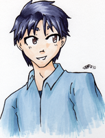 JMAK mark in copics by Doridachi