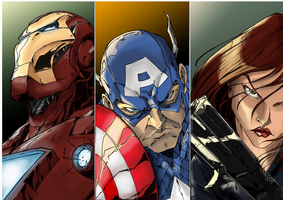 Avengers prt1 by Nimprod