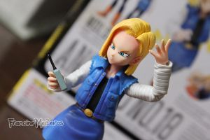 Figuarts Android 18 by theredprincess