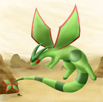 Flygon by creepyeevee