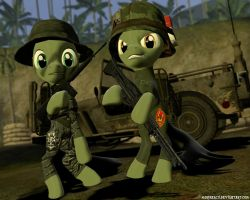 MLP OC: This is Vietnam. This is War. by MarineACU