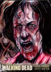 Sketch Card - AMC's The Walking Dead by KennyGordon