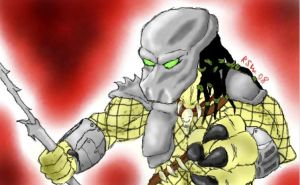 Another Predator drawing by Autumn-Memories