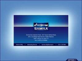 Samaa Business Card 1 by aliather
