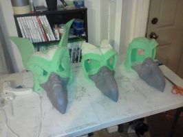 Gryphon Assembly Line  suits in the works. by Rathkin