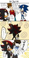 STH Comic : Shadow's Nice Pose by chobitsG