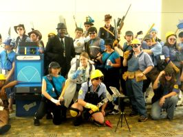 Otakon 2011 - Team Fortress 06 by mugiwaraJM