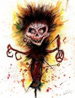 Creepy VooDoo Doll by pinsetter1991