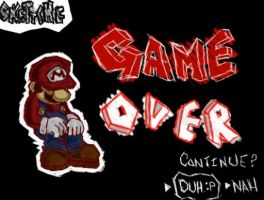 GAME OVER by Skettche