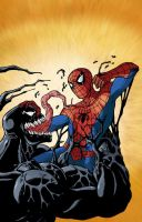 Spiderman Poche 1 cover by Ullcer