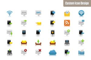 Pretty Office Icon Set part 12 by customicondesign