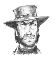 Clint Eastwood by Hologramzx