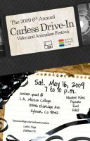Carless Drive-In Poster by Eeni