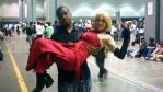 Me and Female Vash the Stampede by coreybrown1994