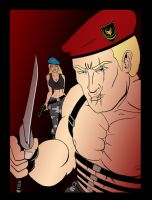 Deadly Krauser - colour by Agent-Foo