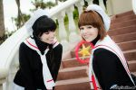 CCS Cosplay: Sakura you're so cute by VariaK