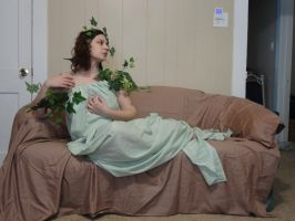 Mucha Inspired - Ivy Reclined 8 by HiddenYume-stock