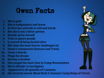 Total Drama- Gwen Facts by courtneyfanTD
