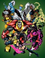 The X-Men by JBourlett
