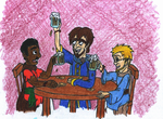 The Legend of Yen Sid- A Drink with Old Friends by WishExpedition23