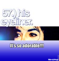 MJ eyeliner: it's so adorable! by MJandGhostAdventures