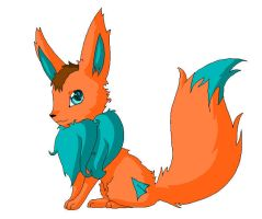 my friend wattojawa as a eevee by element-dragonx