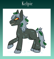 Eponia Kelpie by The-Clockwork-Crow