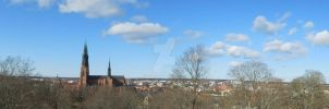 Uppsala - View from the Castle by eskici