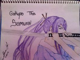 Gakupo The Samurai by EternalArtGirl740