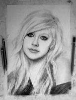 In progress.. Avril [Photo 7] by DesignerMF