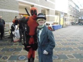 Jervis and Deadpool by ObscurusVII