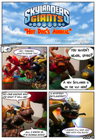 Skylanders Giants Fan Comic Pg1 by Dragoshi1