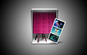 Neon PhotoBooth Icon by emasters