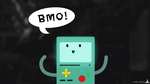 BMO Fanart [Desktop Wallpaper] by CoRe-Ridor