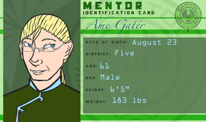 Ame Gater: The Man Behind the Mask by OCT-Willpower