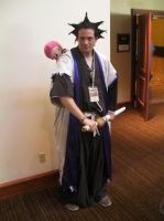 SacAnime Cosplay: Kenpachi by wolfforce58