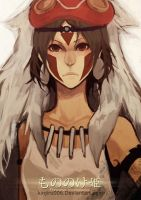 Princess Mononoke:SAN by kinjiru006