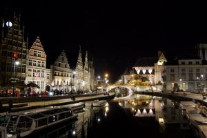 Gent at Night by LordXar