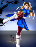 Street Fighter Girls - Chun Li by zhenyue