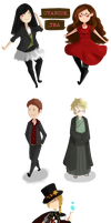 Collection of cute thingys by Auro-Cyanide