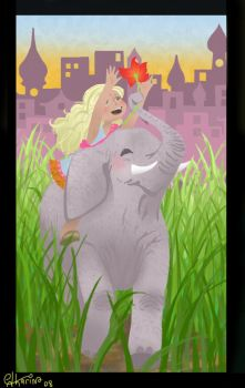 Elephant by Catharin4