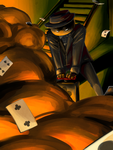 Four of Clubs by Shadizilla