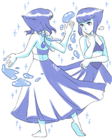 Water lady by NaniSketches